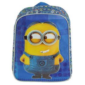 Рюкзачок детский «Миньоны», Universal Studios, 28 х 21 х 12.5 см, для мальчика, синий