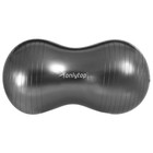 Мяч для фитнеса овальный, размер 77 х 40 х 40 см, 900 гр, цвета микс