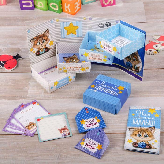 """Набор коробочек + паспорт малыша """"Наш чудесный малыш"""""""