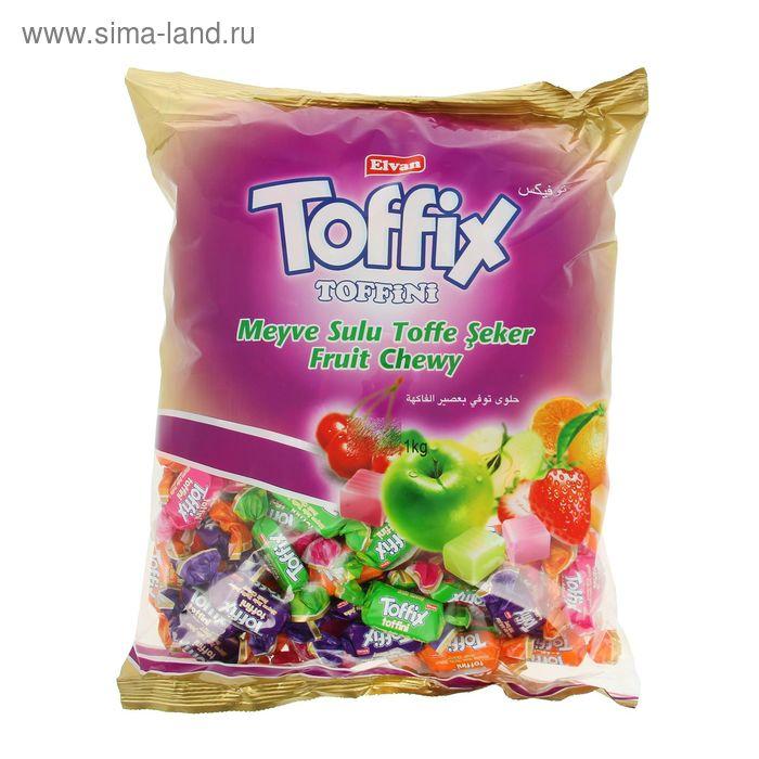 """Конфеты жевательные """"TOFFINI Twist"""" 1кг*8"""