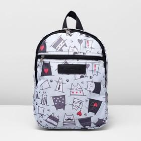 Рюкзак на молнии, 1 отдел, наружный карман, цвет светло-мятный Ош