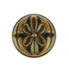 Ручка-кнопка 7160, цвет античная бронза