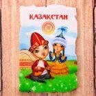 Магнит в форме фрески «Казахстан»