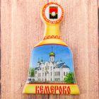 Магнит в форме колокольчика «Кемерово»