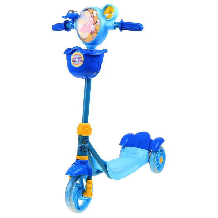 Самокат детский ONLITOP Fox- синий