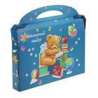 """Коробка для школьного набора """"Джинс"""", 310х220х42мм"""