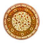 Тарелка десертная «Кашмир», оливковая, 20,5 см
