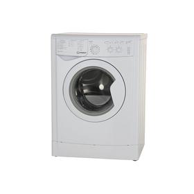 Стиральная машина Indesit IWSC 6105, класс А, 1000 об/мин, 6 кг, белая