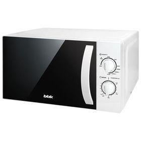 Микроволновая печь BBK 20MWG-738M/W, 700 Вт, 20 л, белая