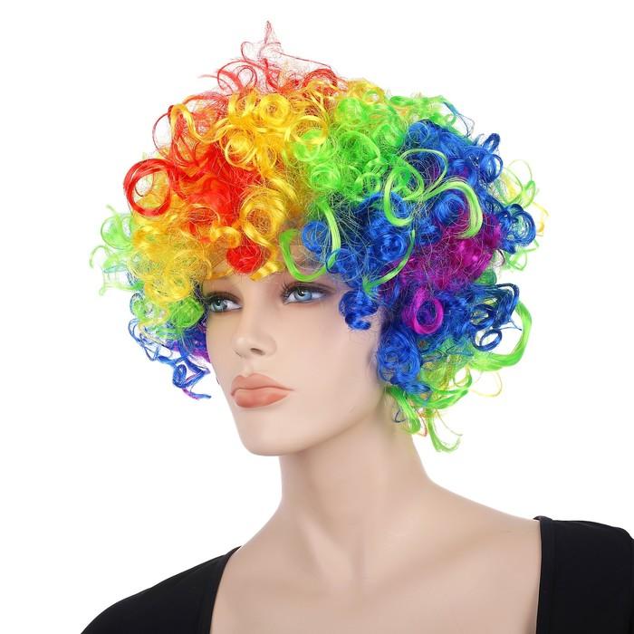 Карнавальные волосы, разноцветные - фото 724781878