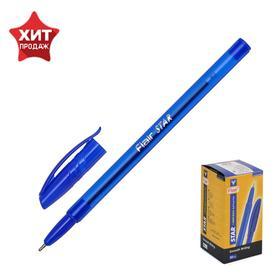 Ручка шариковая Flair Star, матовый корпус, узел-игла 1.0 мм, масляная основа, стержень синий