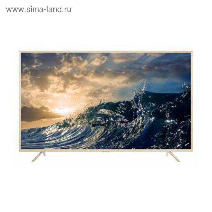 """Телевизор TCL L65P2US, LED, 65"""", цвет золотистый жемчуг"""