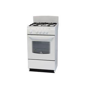 Плита газовая De Luxe 5040.38 Г, 4 конфорки, 43 л, газовая духовка, белый