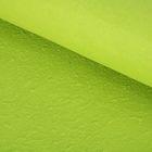 Бумага ручной работы, объемная, зелёная мята, 50 х 80 см