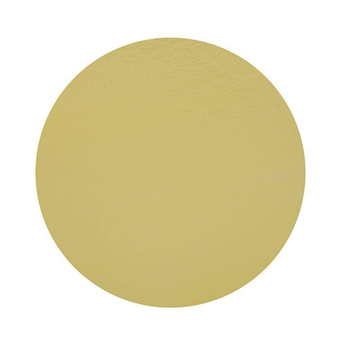 Подложка кондитерская, круглая, золото-жемчуг, 34 см, 1,5 мм - фото 308035248