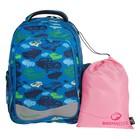 Рюкзак школьный эргономичная спинка Bagmaster EV 004 43*34*20 + ПОДАРОК: мешок для обуви