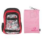 Рюкзак молодежный эргономичная спинка Bagmaster 45*30*21 Street Hit +мешок для обуви HIT-812 / G