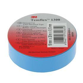 Insulating tape 3M Temflex 1300, PVC, 19 mm x 20 m, blue.