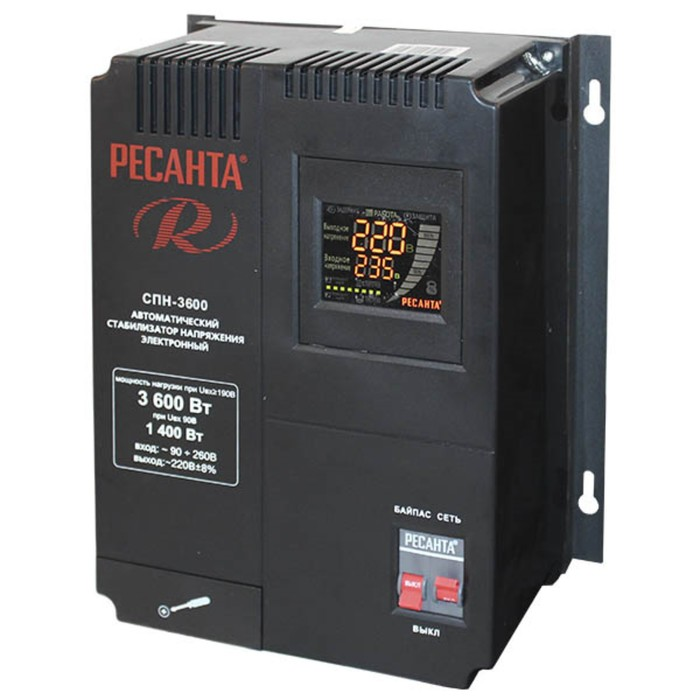 Стабилизатор Ресанта СПН 3600