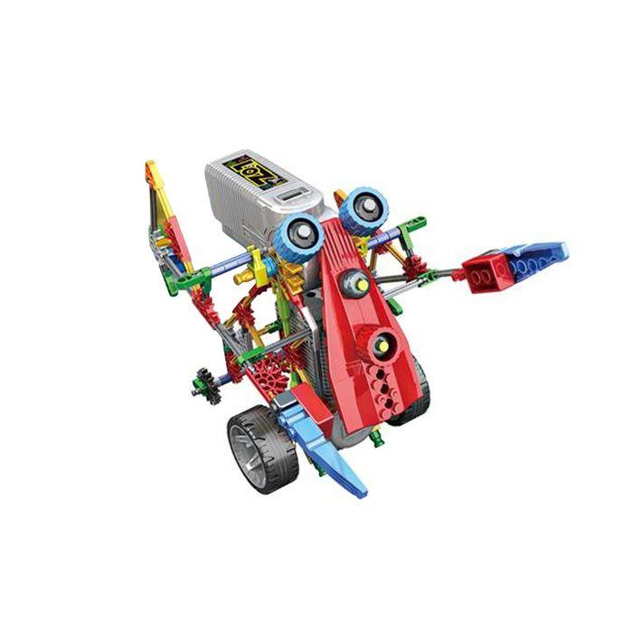Конструктор «Кибер-насекомое», работает от батареек, 209 деталей, в пакете