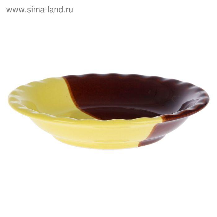 Тарелка d=17,5 см день/ночь, лимон