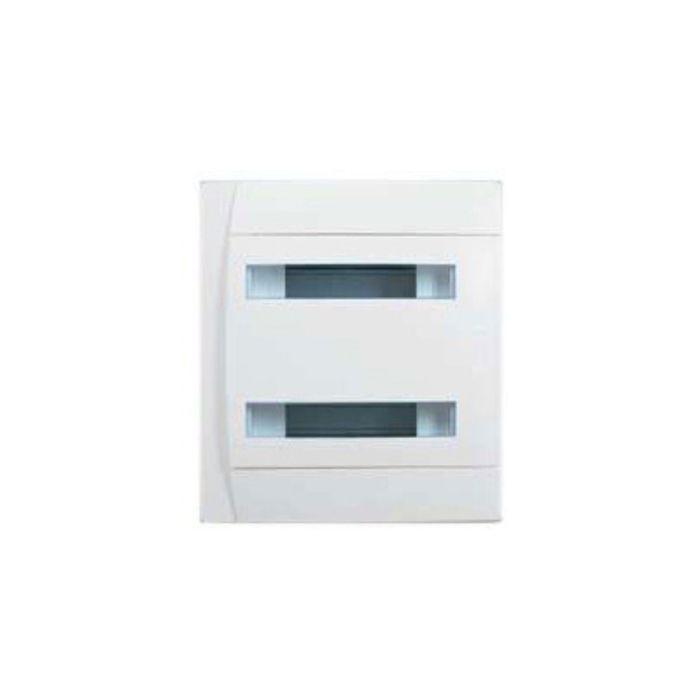 Бокс СП Practibox Legrand, 2х12 мод., с шинами N и PE, IP40, бел/бел. двер., 601118