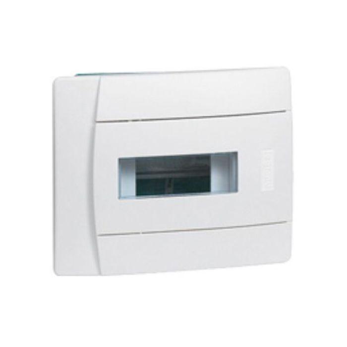 Бокс СП Practibox Legrand, 1х12 мод., с шинами N и PE, IP40, бел/бел. двер., 601117