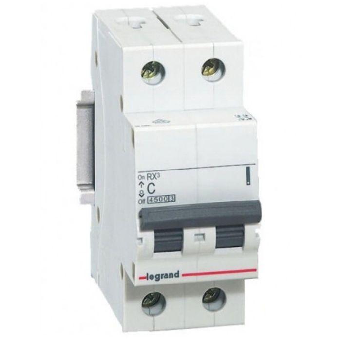 Выключатель-разъединитель Legrand, 2п, 40А, RX3, 419407