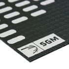 Вибродемпфирующий материал Алюмаст Бета 3 М3Ф1 3 мм,  лист 0,4 х 0,25 м