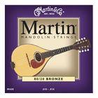 Струны для мандолины MARTIN & Co M400  VEGA, 8-стр, 80/20 бронза, 009-034