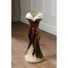 """Ваза напольная """"Платье"""", цветы, 45 см, микс, керамика - фото 1703447"""
