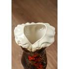 """Ваза напольная """"Платье"""", цветы, 45 см, микс, керамика - фото 1703450"""