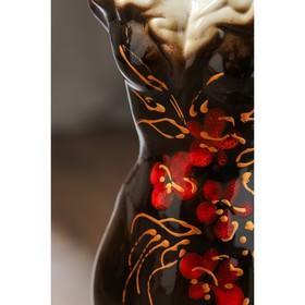 """Ваза напольная """"Платье"""", цветы, 45 см, микс, керамика - фото 1703451"""