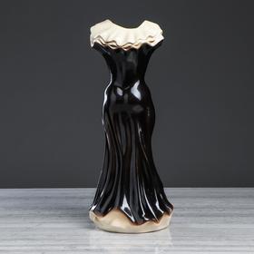 """Ваза напольная """"Платье"""", цветы, 45 см, микс, керамика - фото 2475817"""