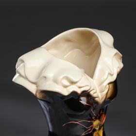 """Ваза напольная """"Платье"""", цветы, 45 см, микс, керамика - фото 2475818"""