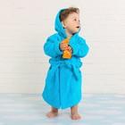 Халат махровый детский, размер 28, цвет морской, 340 г/м2 хл.100% с AIRO - фото 1394922