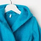 Халат махровый детский, размер 28, цвет морской, 340 г/м2 хл.100% с AIRO - фото 1394924
