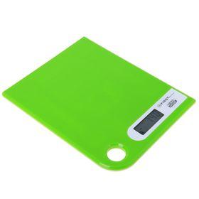 Весы кухонные электронные FIRST 6401-1-GN, до 5 кг, зеленые Ош
