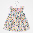 Платье для девочки, рост 80 см, цвет розовый