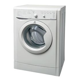 Стиральная машина Indesit IWSB 5105, класс A, 1000 об/мин, 5 кг, белая