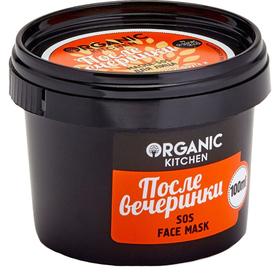 Маска-sos для лица Organic Kitchen «После вечеринки», 100 мл