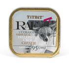 Влажный корм TitBit для собак, паштет говядина, 100 г