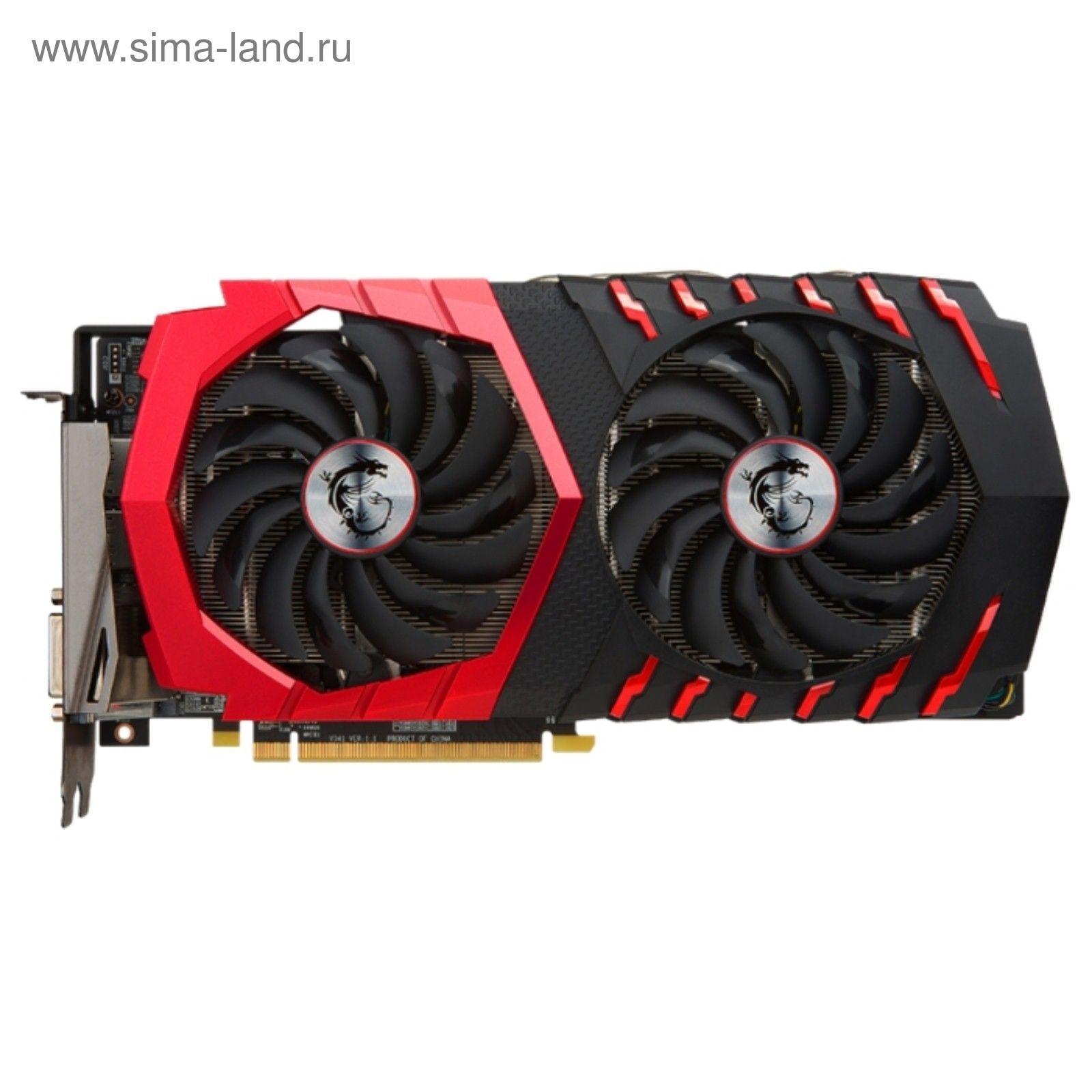 Видеокарта MSI AMD Radeon RX 580 GAMING 8G,256bit,GDDR5,1353/8000