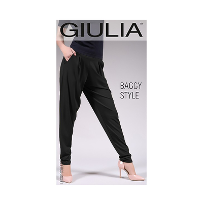 Леггинсы женские BAGGY STYLE 01, цвет black, размер L