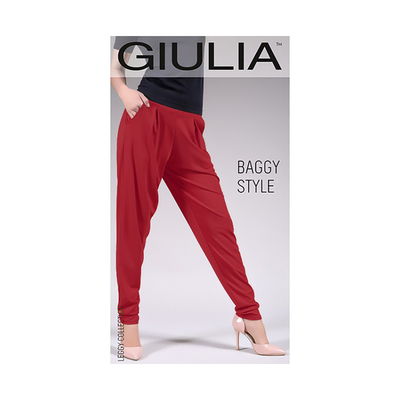 Леггинсы женские BAGGY STYLE 01, цвет extra red gul, размер S