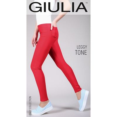 Леггинсы женские LEGGY TONE 06, цвет deep navy gul, размер M