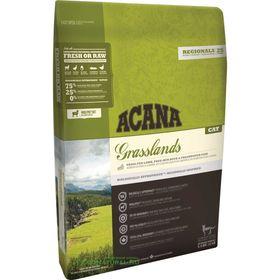 Сухой корм Acana Cat Regionals Grasslands для котят и кошек, беззерновой, ягненок, 1.8 кг
