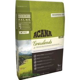 Сухой корм Acana Cat Regionals Grasslands для котят и кошек, беззерновой, ягненок, 5.4 кг