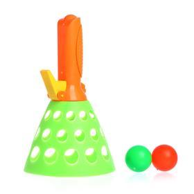 Игра «Кидай лови», 1 конус, 2 шарика, МИКС