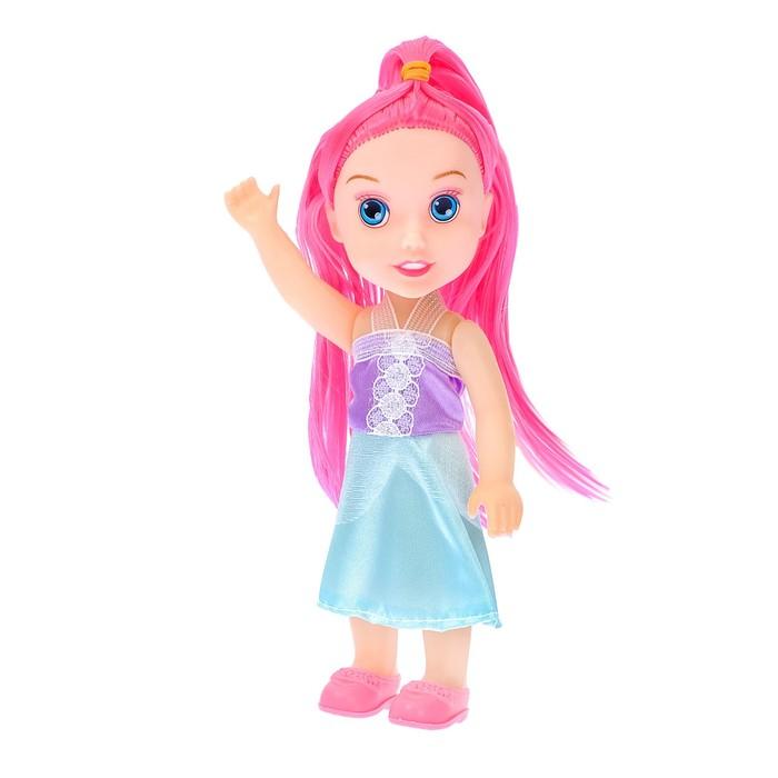 """Кукла малышка """"Лилия"""" в платье, МИКС"""